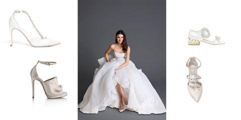 51da49383fd4 Hai già scelto la scarpa giusta da indossare per il giorno del matrimonio   Quest anno hai l imbarazzo della scelta e tra le diverse proposte moda  pensate ...
