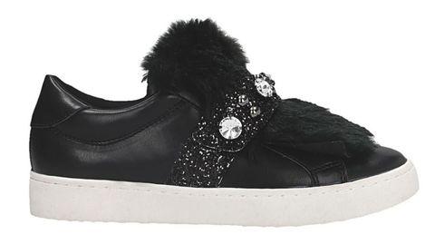 Shoe, Footwear, Black, Product, Skate shoe, Sneakers, Walking shoe, Athletic shoe, Outdoor shoe, Fur,