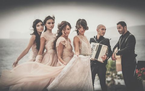 Photograph, Bride, Dress, Gown, Wedding dress, Wedding, Ceremony, Event, Bridal clothing, Fashion,