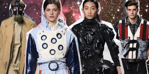 Fashion, Outerwear, Latex, Fashion model, Performance, Fashion design,