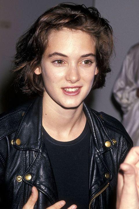 Hair, Hairstyle, Eyebrow, Black hair, Leather jacket, Cool, Long hair, Leather, Jacket, Lip,