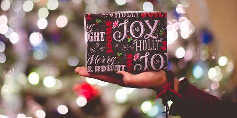 Text, Tree, Lighting, Font, Event, Christmas, Christmas eve, Plant, Interior design,