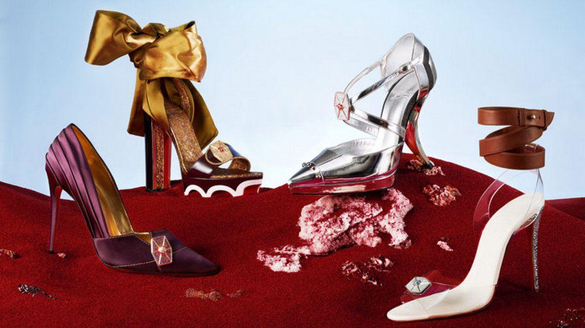 Watch Le nuove scarpe Louboutin della serie LOVE sono un omaggio e un abbraccio mega a Lady Diana video