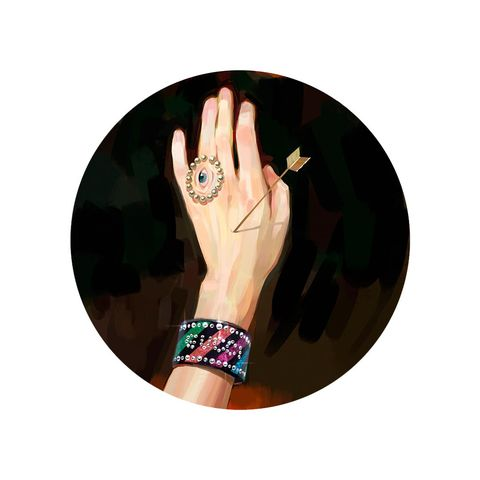 Hand, Finger, Arm, Gesture, Fashion accessory, Nail, Photography, Wrist, Illustration, Circle,