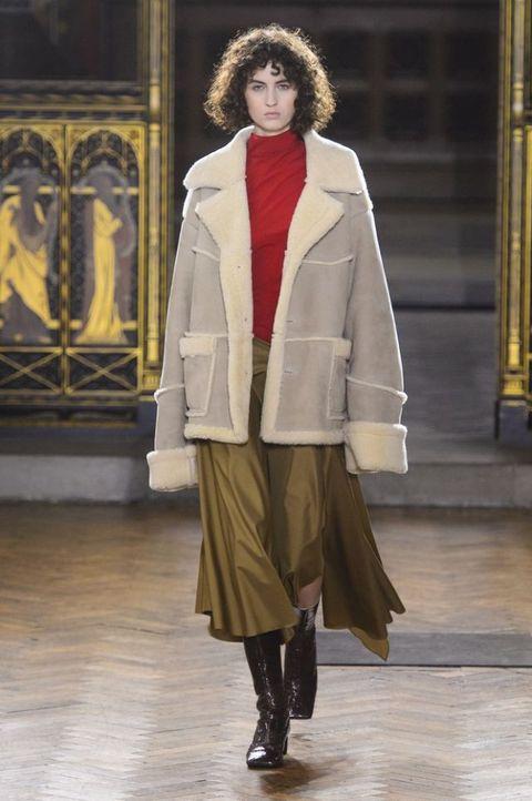 promo code eae52 d830a Cappotti inverno 2018: le giacche in montone shearling sono ...