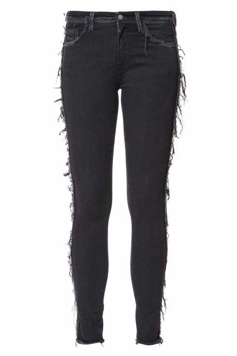 Jeans, Denim, Clothing, Black, Trousers, Pocket, Textile, Waist, Leggings,