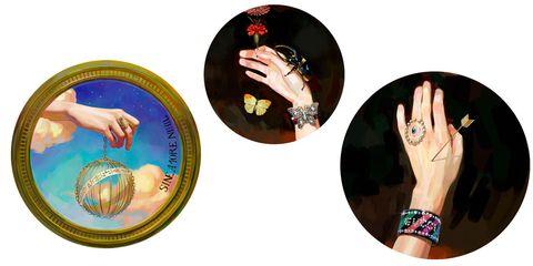Hand, Finger, Nail, Gesture, Circle, Fashion accessory,