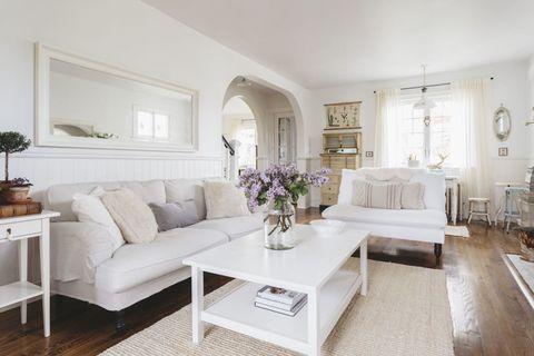 Interni Case Stile Inglese : Consigli per arredare casa: lo stile vintage shabby chic per