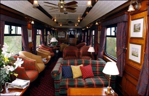 I treni di lusso hanno il fascino di viaggi d'altri tempi