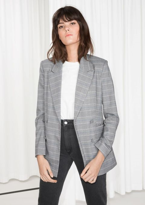 Clothing, White, Outerwear, Blazer, Jacket, Sleeve, Suit, Fashion, Top, Shoulder,