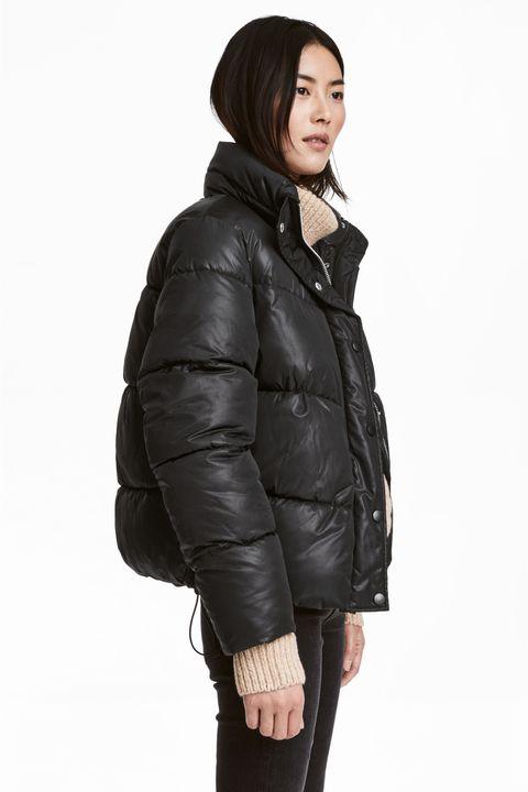 Clothing, Jacket, Outerwear, Hood, Coat, Leather, Sleeve, Fur, Leather jacket, Parka,