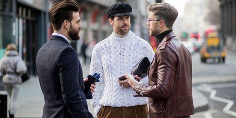 Moda uomo inverno 2018 2019  le 10 tendenze street style più hot di ... 0be401345a46
