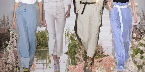 scarpe sportive 2d553 8b48b Pantaloni modelli 2018: la moda della primavera estate 2018 ...
