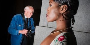 On the Street with Bill Cunningham - Image by Dina Litovsky, Courtesy The New York Times/Colorado Photographic Arts Center (CPAC) Denver