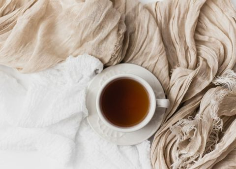 Cup, Textile, Coffee cup, Linens, Food, Beige, Cup,