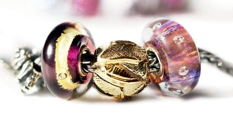 Bead, Big hole bead, Purple, Pink, Fashion accessory, Jewelry making, Body jewelry, Jewellery, Bracelet, Art,