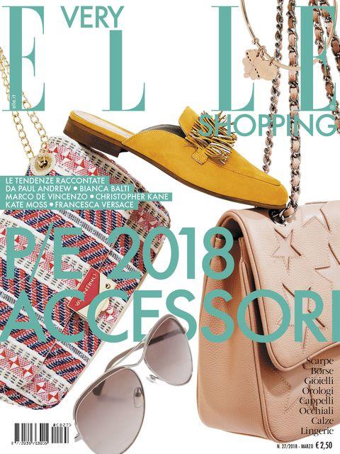 <p>La copertina del nuovo numero di Very Elle Shopping, in edicola dal 16 febbraio</p>