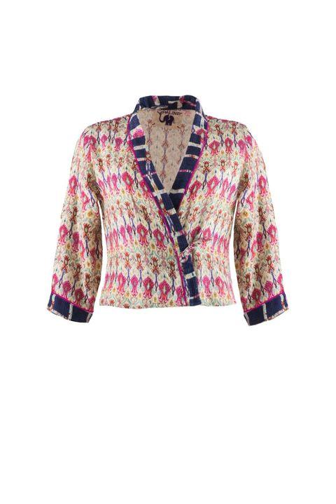 Clothing, Outerwear, Blazer, Jacket, Sleeve, Top, Pink, Cardigan, Blouse, Magenta,