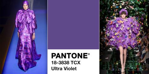 Fashion model, Clothing, Purple, Violet, Fashion, Lavender, Dress, Fashion design, Textile, Flower,
