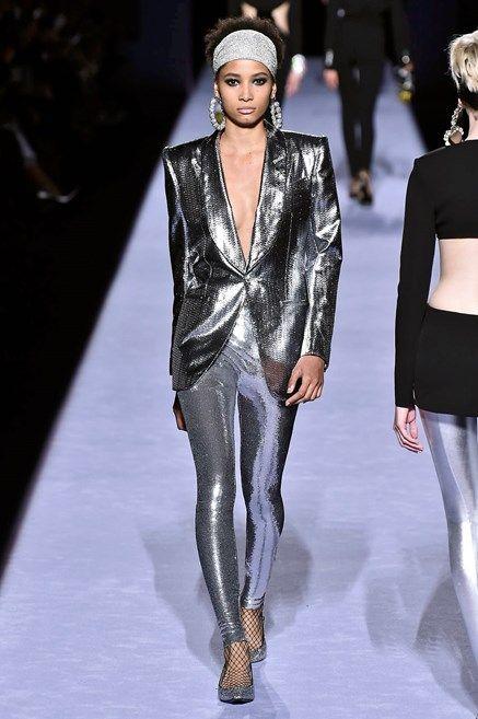Fashion model, Fashion, Fashion show, Runway, Clothing, Haute couture, Human, Transparent material, Event, Leggings,