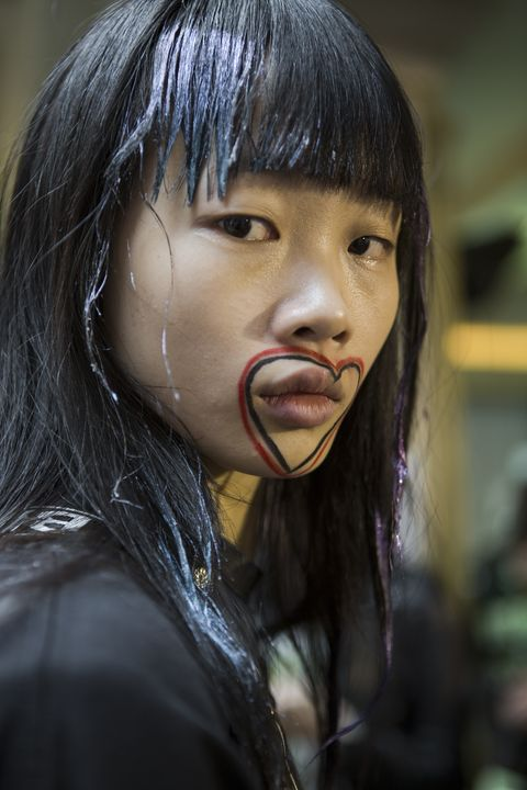 Face, Hair, Nose, Lip, Skin, Head, Cheek, Beauty, Mouth, Eye,