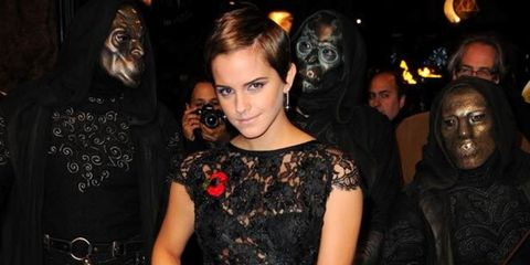 <p>Thanks to the imminent release of the latest Harry Potter movie, Emma Watson has been out and about a lot over the past few weeks. She's busy shaking off all traces of Hermione Granger, chopping her hair into a pixie crop and sporting a line-up of on-t