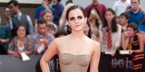 <p>Emma Watson at the New York premiere</p>