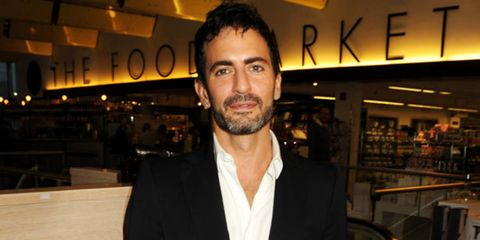 """<p><a href=""""http://www.elleuk.com/catwalk/collections/marc-jacobs/autumn-winter-2010"""">Marc Jacobs</a> flew into London last night to launch his new men's scent, Bang, with a party at Harvey Nichols. We had a chat with him (big excitement) and couldn't res"""