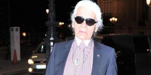 <p>Karl Lagerfeld</p>