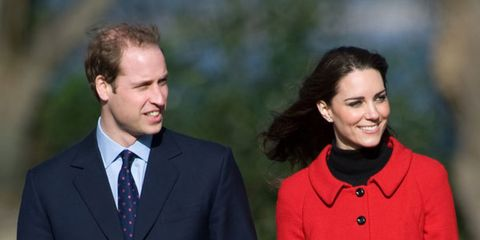 <p>Kate Middleton and Prince William</p>
