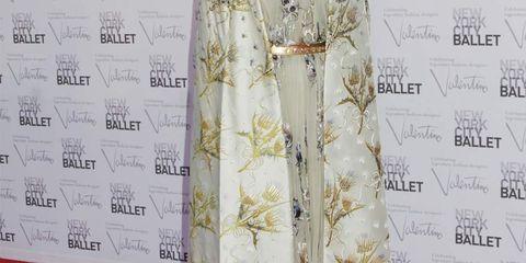 <p>Sarah Jessica Parker at the New York City Ballet Fall 2012 Gala </p>