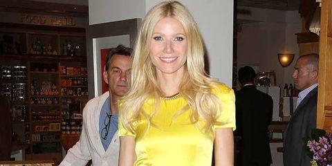 """<p><strong>In March, we were all abuzz at <a href=""""http://www.elleuk.com/news/star-style-news/gwyneth-flares-up-album-rumours"""">Gwyneth Paltrow's burgeoning musical career</a>. Back then, it looked like Paltrow was so taken with singing on </strong><em><st"""