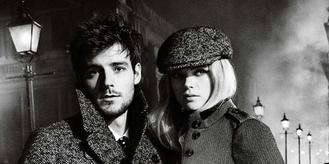 <p>Gabriella Wilde and Roo Panes in the new Burberry campaign</p>