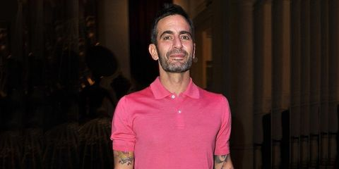 <p>Marc Jacobs at the Louis Vuitton – Marc Jacobs opening party in Paris</p>