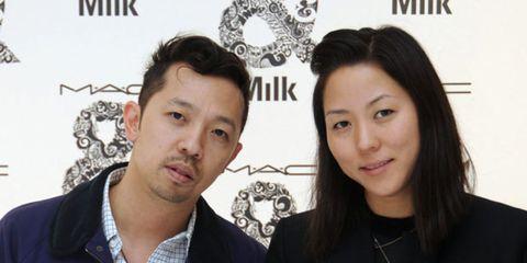<p>Carol Lim and Humberto Leon</p>