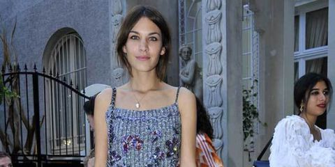 <p>Alexa Chung at the Acne Paper party</p>