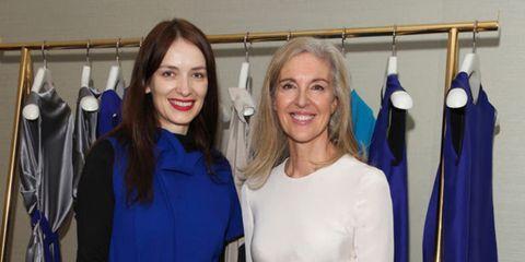 <p>Roksanda Ilincic and Ruth Chapman</p>