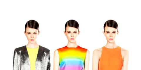 <p>Designs from Christopher Kane's Resort collection</p>