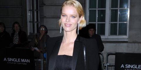 """<p>The designer-turned director attracted an impressive clutch of supermodels - <a href=""""http://www.elleuk.com/starstyle/red-carpet/%28section%29/british-fashion-awards-2009/%28offset%29/18/%28img%29/451865"""">Eva Herzigova</a> (pictured, in <a href=""""http:/"""
