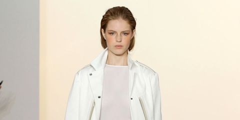 <p>It's no secret that the ELLE team has a bit of a girl crush on Joanna Sykes thanks largely to her ability to second-guess exactly what we want to wear before we know ourselves. So it won't come as much surprise that the spring Aquascutum collection, th