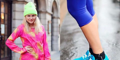 <p>When team ELLE goes running we don't just want to pull on any old pair of joggers, oh no. We want to look stylish, go colourful (when running on winter nights) and ensure our kit keeps up with us over long distances, on treadmills and trail runs. </p><