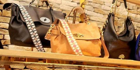 <p>Mulberry bags</p>