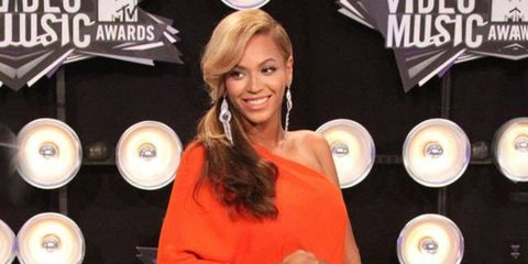 <p>Beyonce Knowles wearing Lanvin on the red carpet</p>