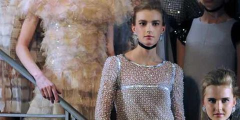 """<p>Editors and buyers have descended upon Paris for the dreamiest of fashion weeks - couture. So far they've been treated to offerings from <a href=""""http://www.elleuk.com/catwalk/collections/giorgio-armani/spring-summer-2011/collection"""">Giorgio Armani</a>"""