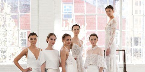 The Most Breathtaking Wedding Dresses From Bridal Fashion Week