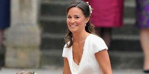 <p>Pippa Middleton at the Royal Wedding</p>