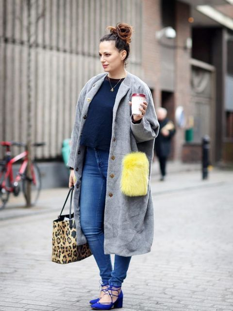 <p>Sophie Beresiner, Beauty Director</p>  <p>Narciss coat, Roksanda top, ASOS jeans, Kurt Geiger shoes, Monica Vinader necklace, Givenchy bag</p>