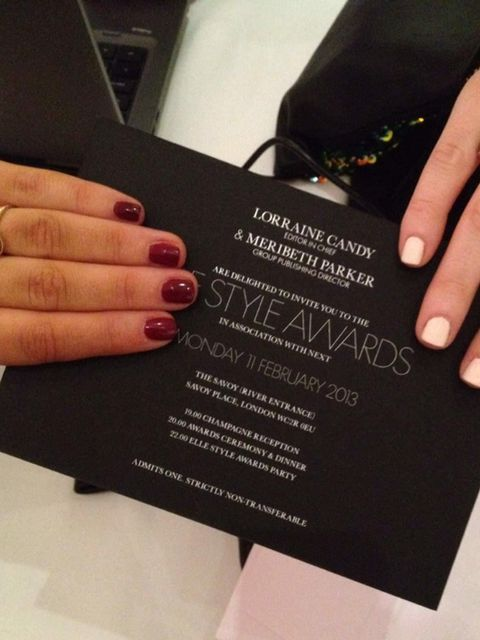 <p>Last night, A-list stars flocked to the Savoy for the most anticipated night in fashion – the ELLE Style Awards. And we were on hand (literally) with our 'ManiCam' to snap all the nail looks for some covetable beauty inspiration. From Chinese New Year