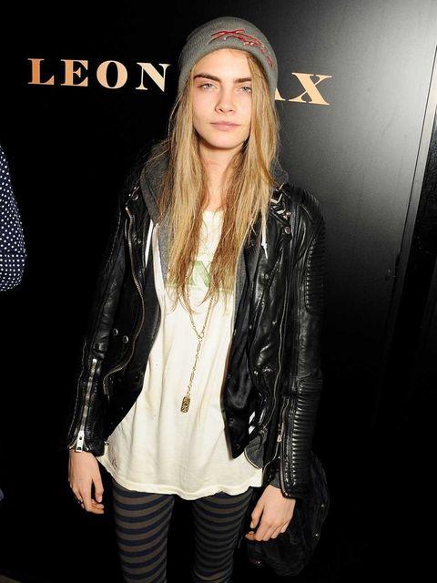 <p>Cara Delevingne at the Leon Max party</p>