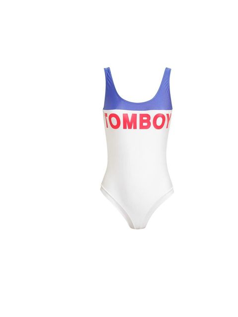 """<p>Make a splash poolside this holiday season with Filles a Papa's 'Tomboy' swimsuit, £160, at <a href=""""http://www.brownsfashion.com/product/034733700005/054/tomboy-motif-swimsuit"""">Browns Fashion</a></p>"""
